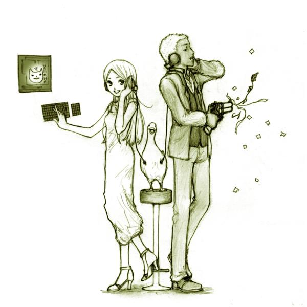 ラルフとクローディア[ICHICO]